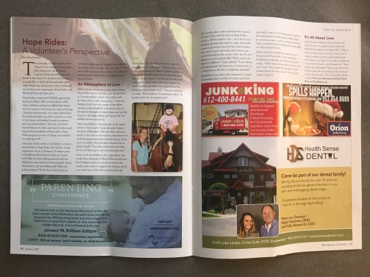 full hope rides article for chaska mag