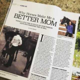 """Why Horses Make Me a Better Mom."""